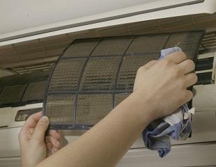 pulizia del condizionatore