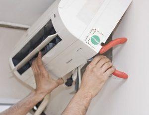 installazione di condizionatori
