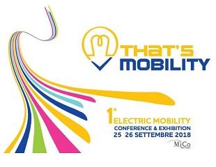 THAT'S MOBILITY: mobilità sostenibile in mostra a Milano