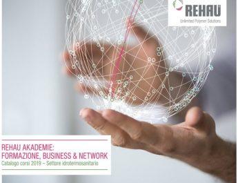 Rehau inaugura il 2019 con i nuovi corsi REHAU-Akademie